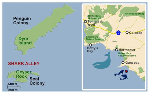 map-gansbaai