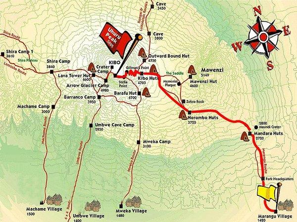 Marangu - CocaCola - Route
