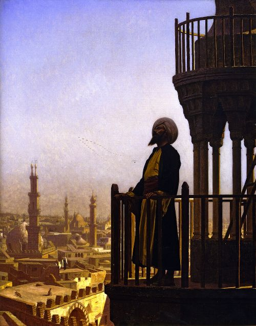 Jean-Leon-Gerome-xx-The-Call-to-Prayer-xx-Joslyn-Art-Museum