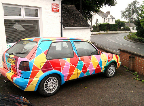 ice cream paint job